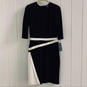 NWT Ralph Lauren Jersey Knit Dress - 0